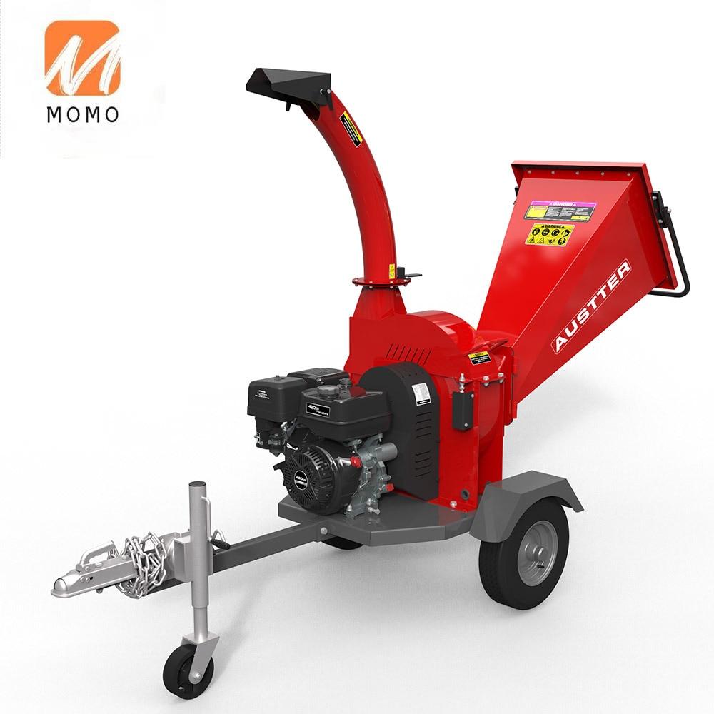 15HP البنزين بالطاقة ATV الغابات مزرعة سجل شجرة فرع التقطيع التقطيع ، الخشب المعالج آلة التقطيع/قطاعة الخشب