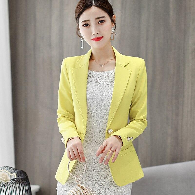 Женский приталенный Блейзер, Официальный женский офисный костюм для работы, женские куртки, пальто, куртки, элегантные JK572