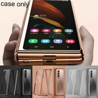mobile phone for z fold 3 phantom plating ultra clear transparent pc hard pc thin y3r1