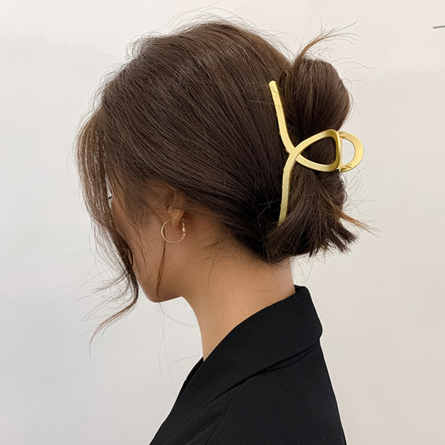 1PC Barrettes Hair Clips Hair Claw For Women Acrylic Hairpins Hair Crab Claws Girls Make UP Washing