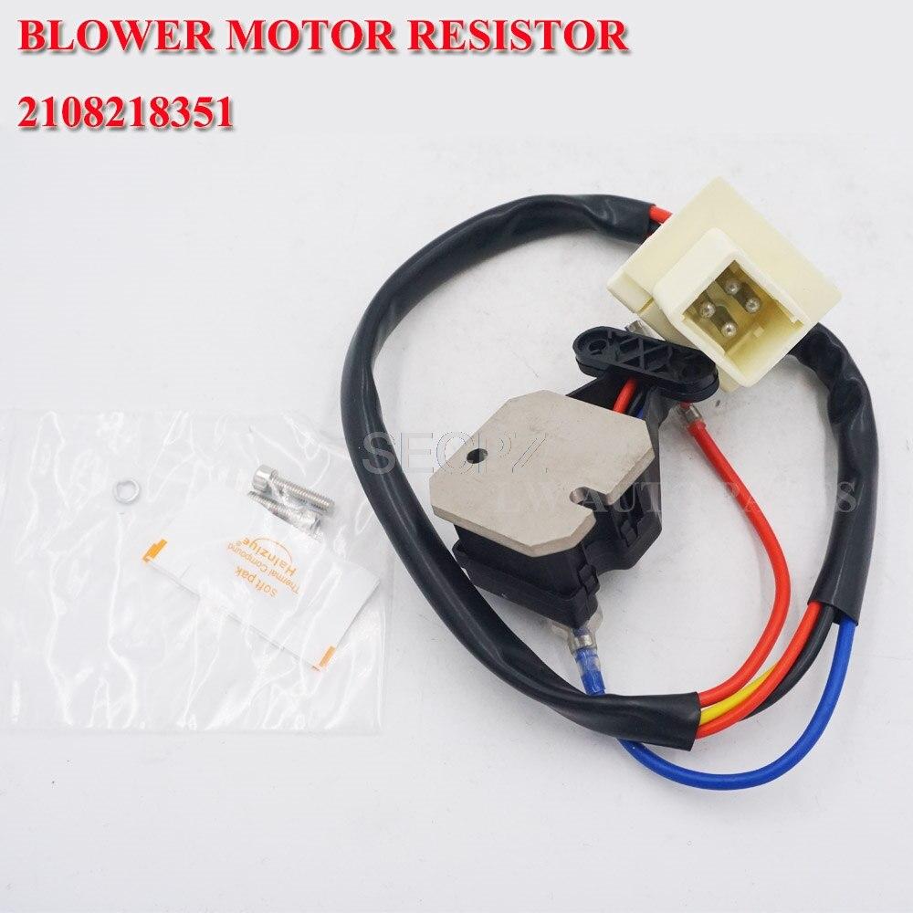 Blower Motor Resistor for benz E-Class W210 W202 S210 OE# 2108218351,9094302385, 9140010179