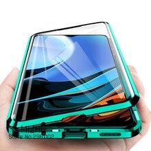Чехол для xiaomi redmi 9 T, 360 дюйма, Магнитные Флип Чехлы для xiaomi redmi 9 t, 9 t, xiomi redmy t9, redmi9t, двухсторонний стеклянный чехол для телефона