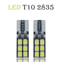 10pcslot canbus error free t10 168 194 w5w wedge 12smd 2835 led auto car interior light bulb lamp led lights for car