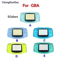 chenghaoran suitable for nintend gameboyadvance gb a game console shell night light transparent case