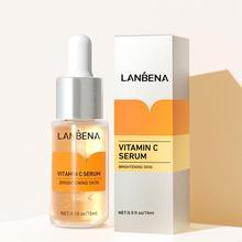 15ml Vitamin C Face Serum Whitening Hyaluronic Acid Vc Cream Remover Moisturize Freckle Speckle Esse