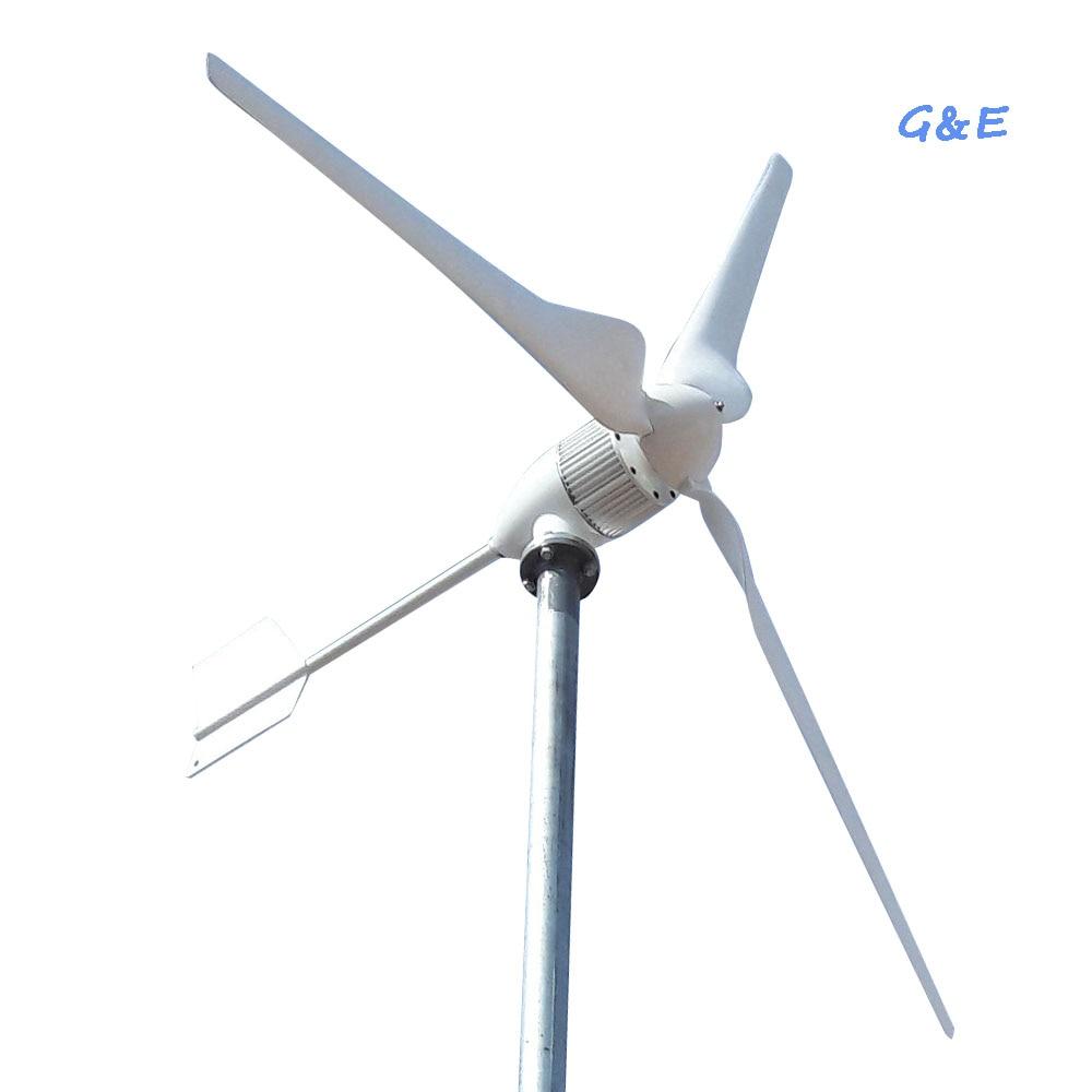 توربينات الرياح 24V 48V 1kw 1000W ، مولد طاقة ، طاحونة هوائية AC/DC