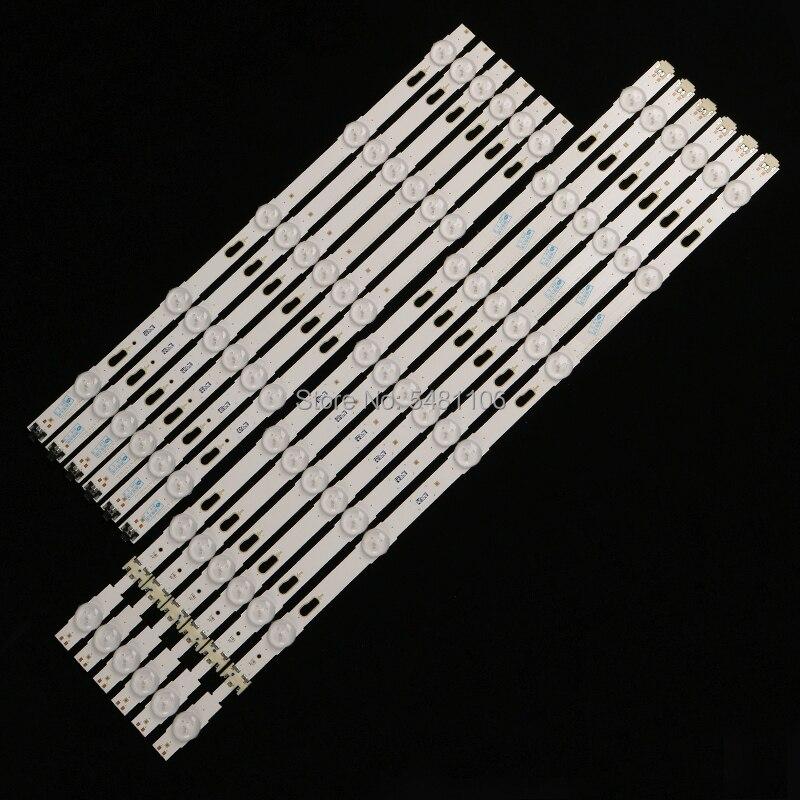 100% 12 unids/مجموعة دي retroiluminación LED الفقرة LM41-00334A LM41-00335A UE49KU6300 UN49KU650DF S_KU6.3K_49_FL30_L7 R5