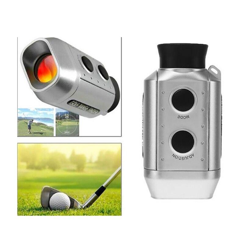 Medidor de Distância Digital Monocular Telescópio Laser Rangefinder Handheld Golfe Caça 7x