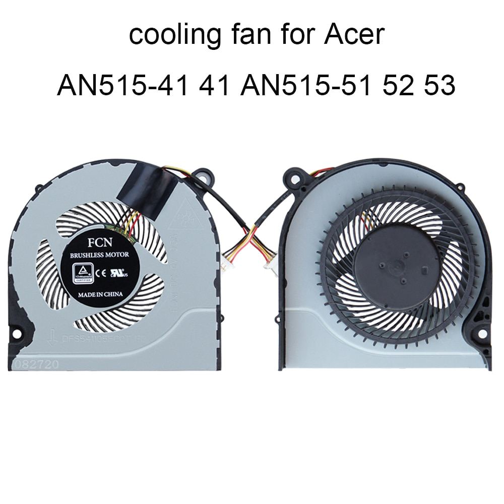 Фото - Кулер для процессора Acer Nitro 5, AN515-41, AN515-42, AN515-51, AN515-52, AN515-53 original new laptop lcd back cover front bezel hinges for acer predator nitro 5 an515 42 an515 41 an515 51 an515 53