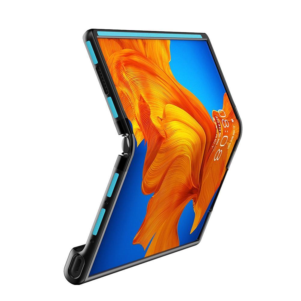 لهواوي ماتي XS/X غطاء الهاتف المحمول للطي إطار الجلد يشعر قذيفة حماية شاملة للجميع مكافحة الإفلات واقية
