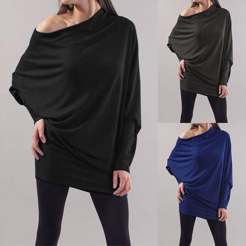 ¡Novedad de 2020! Blusa ZANZEA para mujer, blusa sexi con hombros descubiertos para oficina, Blusa de manga larga para mujer