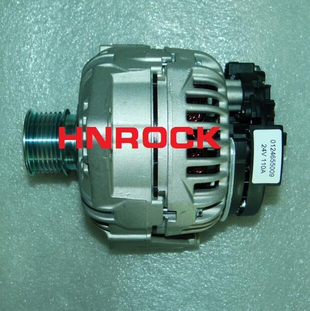 Nuevo alternador automático 24V 0124655009 0986047420 51261017249 51261017270 Para MAN TGA