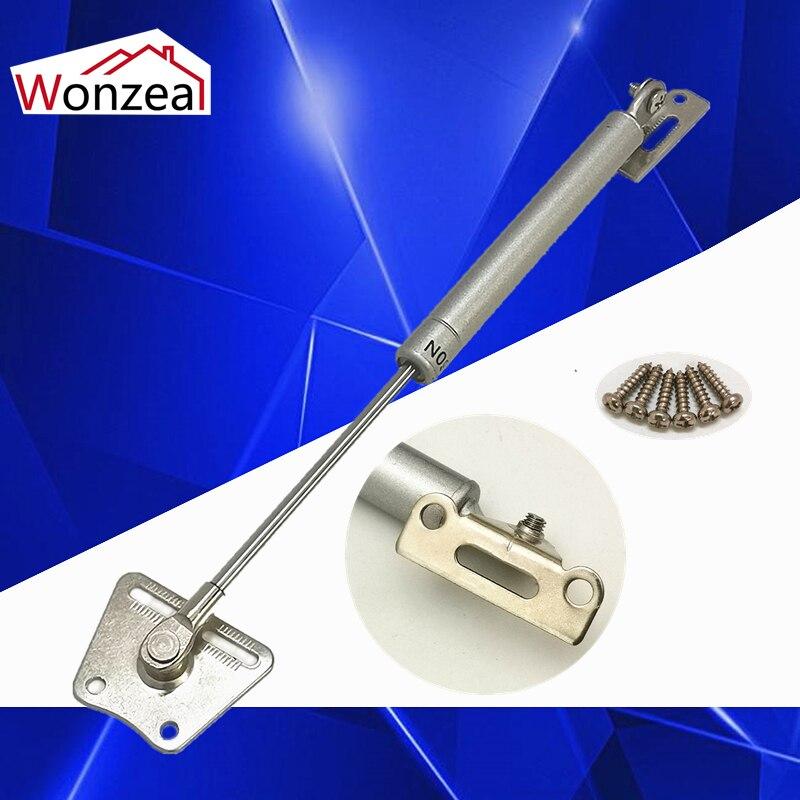 20N-300N 2-30kgs elevador soporte de mobiliario accesorios de bisagra para muebles de madera armario puerta cocina armario bisagras de resorte de Gas