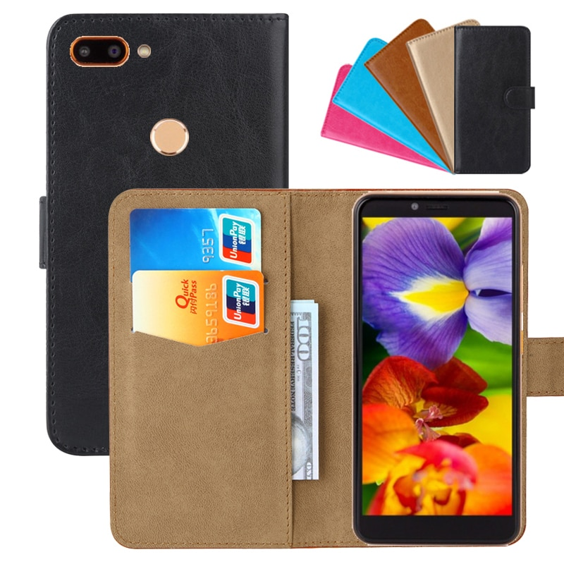 Luxury Wallet Case For HTC Wildfire E PU Leather Retro Flip Cover Magnetic Fashion Cases Strap