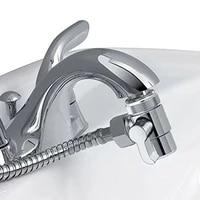 Valve de derivation de robinet  separateur deau a 3 voies  adaptateur de Tee de douche  pomme de douche reglable  accessoires de salle de bains