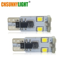 CNSUNNYLIGHT Super Helle T10 W5W Led-lampen 194 168 2835 6SMD Canbus Kein Fehler 12V Auto licht Parkplatz Lampe
