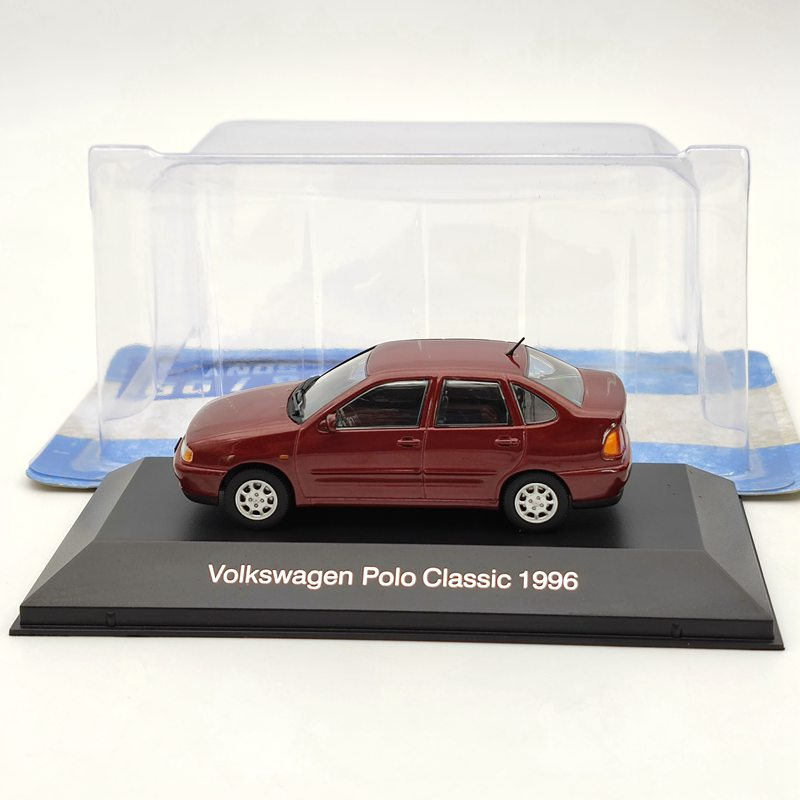 ixo 1 43 for v ksw gen polo classic 1996 diecast models collection limited edition auto toys car gift red 1:43 IXO For V~~ksw~gen Polo Classic 1996 Red Diecast Models Collection Limited Edition Auto Toys Car Gift
