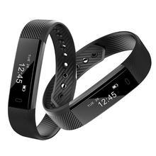 Numer ID 115 U inteligentny nadgarstek tętno ciśnienie krwi pływanie Smartband Fitness Monitor snu zdrowia Tracker Sport bransoletka