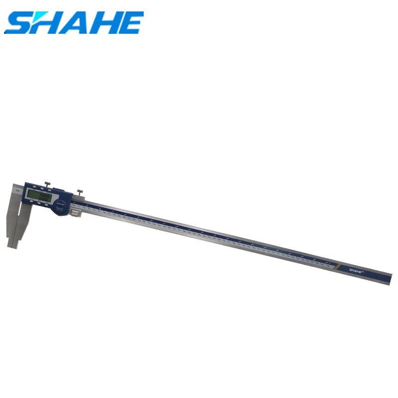 SHAHE 600 مللي متر الفرجار الورنية الرقمية الفرجار الإلكترونية الصلب paquimetro أدوات قياس رقمي قياس الفرجار