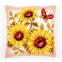 latch hook kits pillow sunflower diy handmade printed canvas cushion latch hook kits diy unfinished accessories