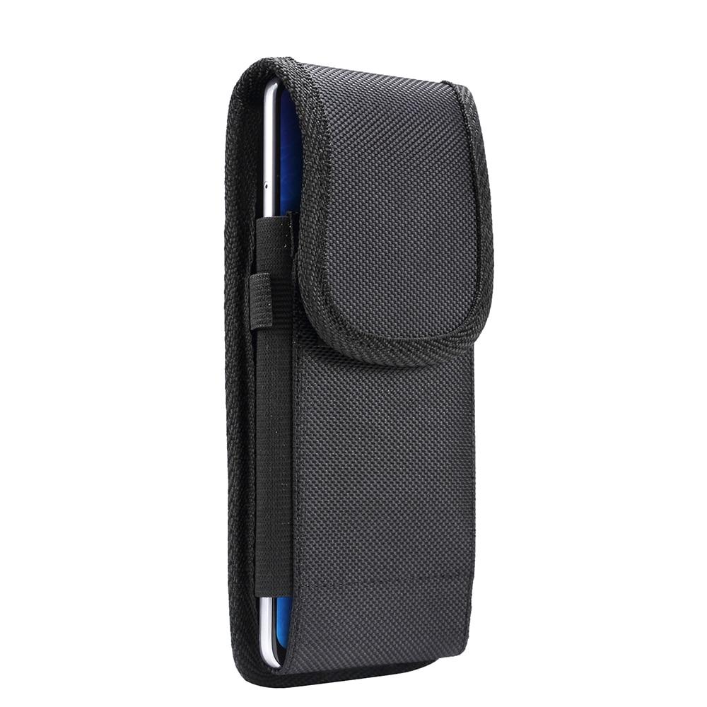 Funda Universal Vertical para cinturón, funda para Samsung S20 + / s20 Ultra / S10 Lite/Note10 Lite/Note10 +/A90/A80, resistente Nylo