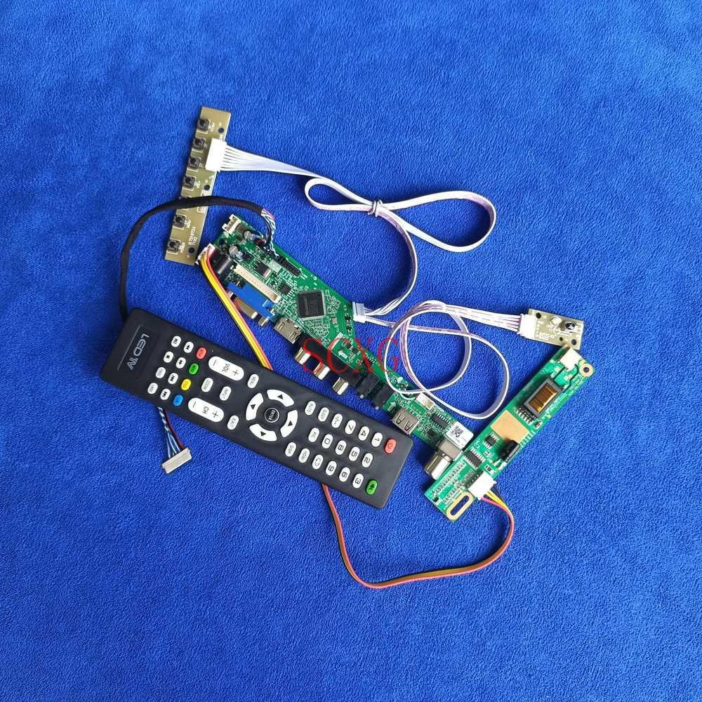 ل N121I1/N121I2/N121I3 VGA USB HDMI متوافقة شاشات كريستال بلورية تحكم لوحة للقيادة LVDS 20Pin 1280*800 1CCFL إشارة التناظرية عدة