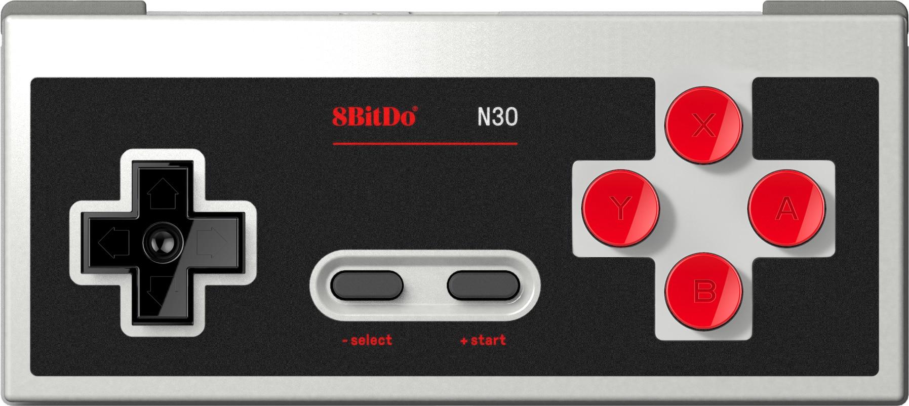 Официальный 8bitdo N30 Новый кожаный Bluetooth контроллер геймпад поддержка переключатель Android MacOS паровые Windows