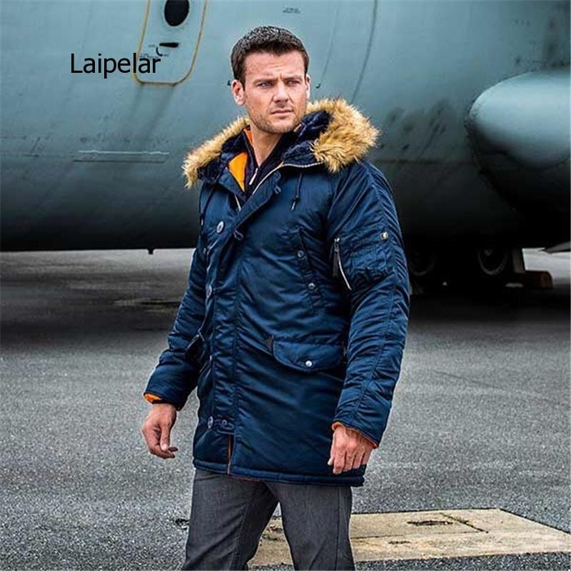 2020 зимний мужской пуховик длинное пальто в стиле милитари меховой капюшон Теплый плащ-Тренч камуфляж тактический бомбер в стиле милитари п...
