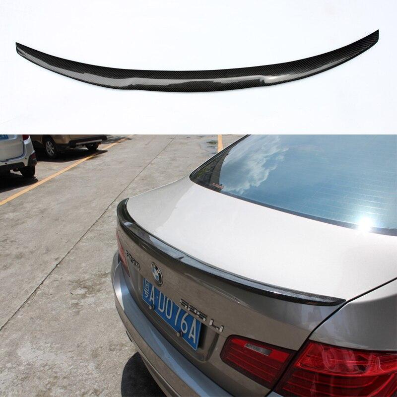 M4 Style F10 M5 Carbon Fiber Car Rear Body kit Trunk lip Spoiler Wing For BMW F10 M5 2011-2015