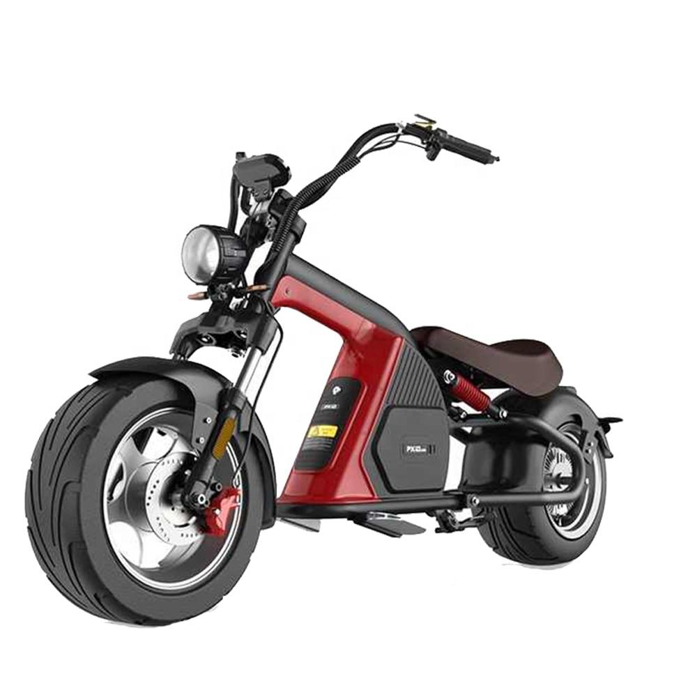 دراجة كهربائية سكوتر الدراجة الولايات المتحدة مستودع المروحية Ebike M8 3000 واط دراجة نارية بطارية ليثيوم Citycoco 50MPH