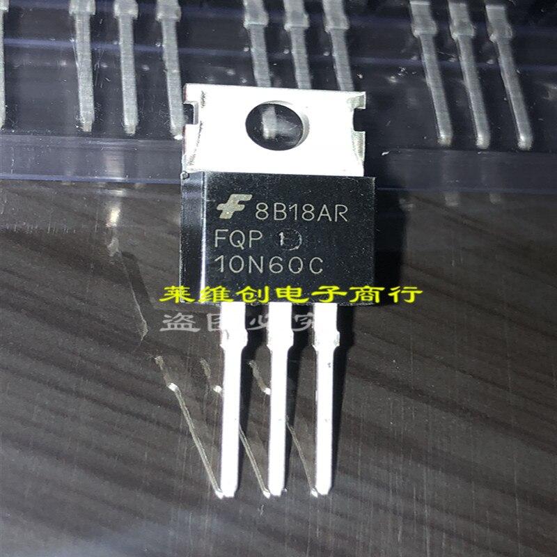 Apenas FQP10N60C TO220-3 nova marca genuína original chip