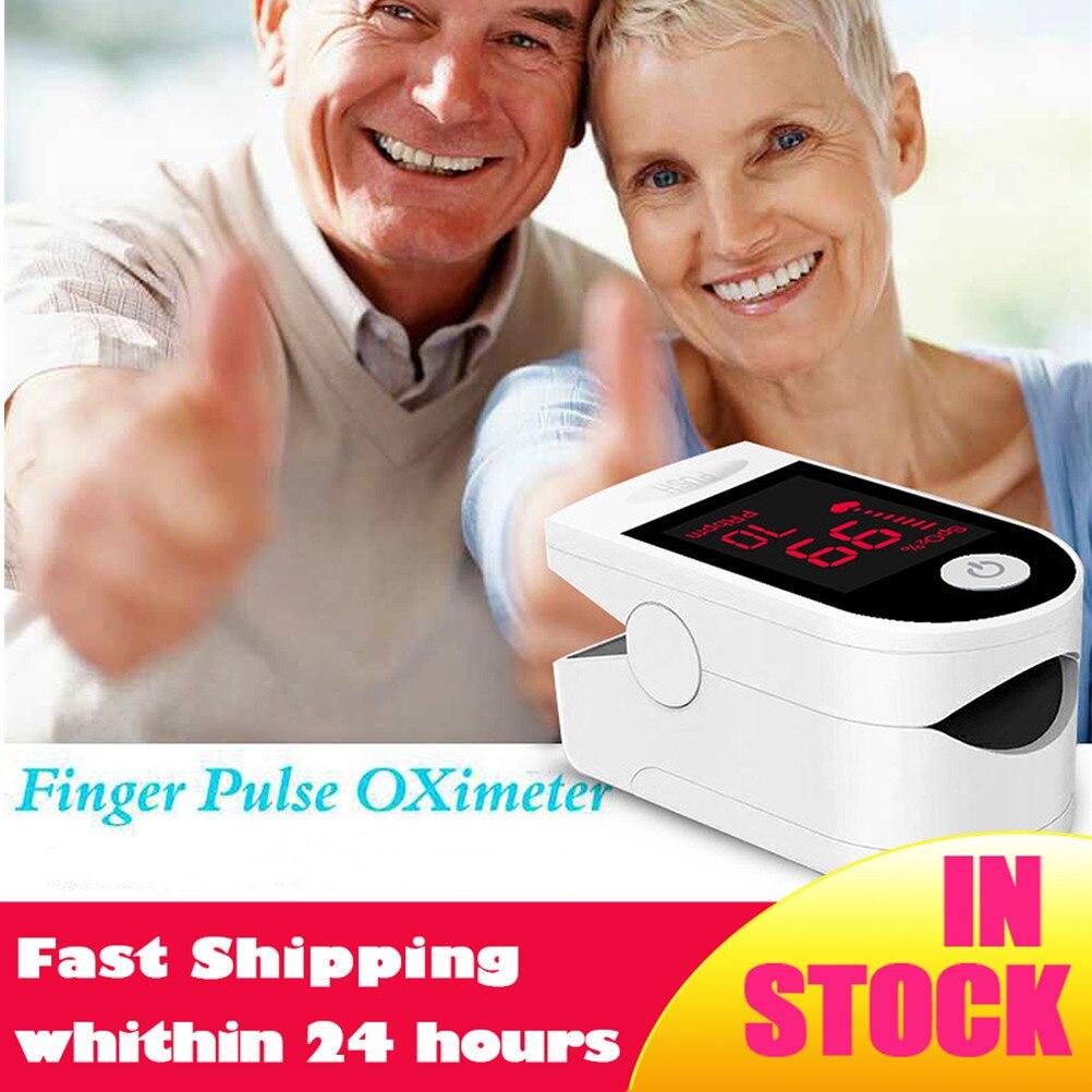 HEIßER! Blut Sauerstoff Monitor Finger-pulsoximeter Sauerstoff Sättigung Monitor Schneller Versand innerhalb von 24 stunden (ohne Batterie)