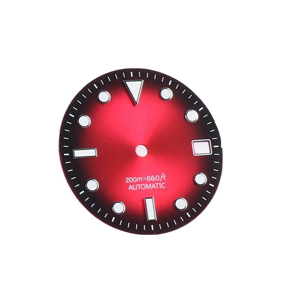 AliExpress - Mod 28.5mm Watch Dial for SKX007 6105  7S26 NH35 Movement 2 Positions replacement Watch Dial