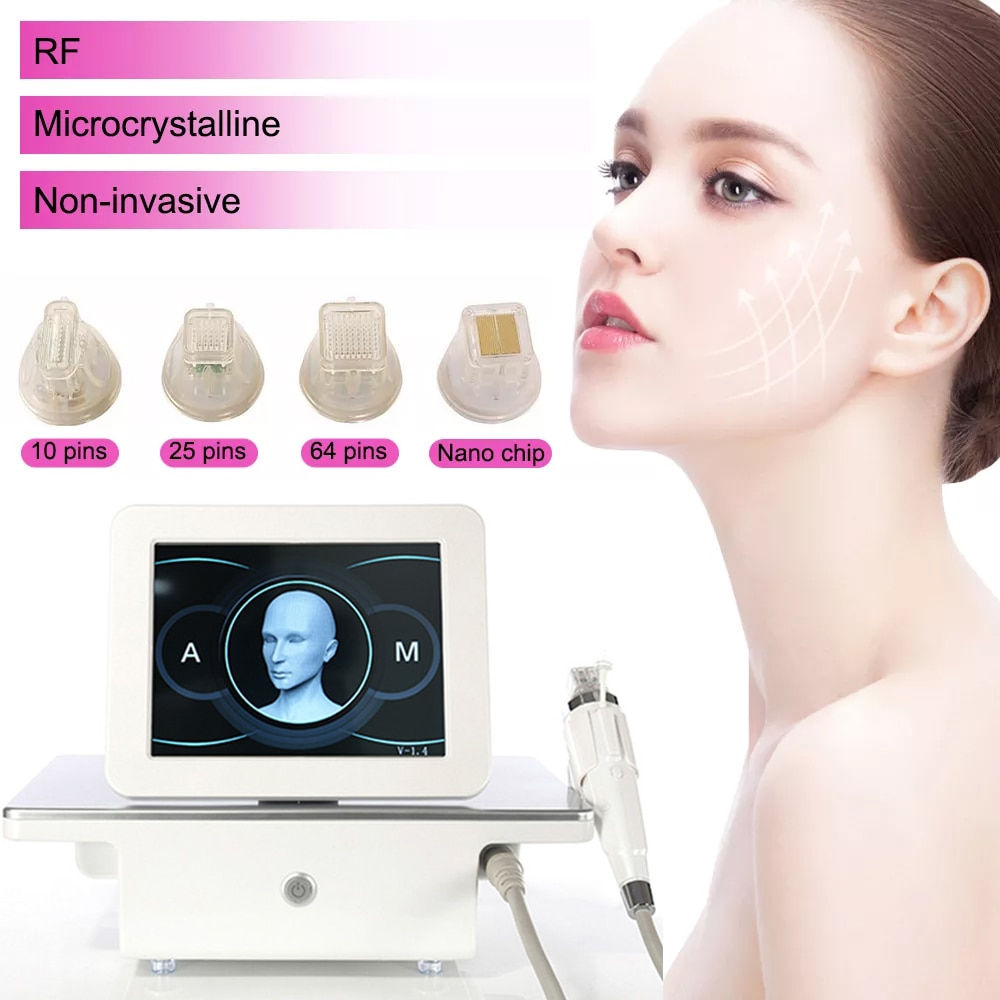 Best selling rf lifting fractional microneedle, portable rf radio frequency skin tightening Acne Scars Stretch marks removal
