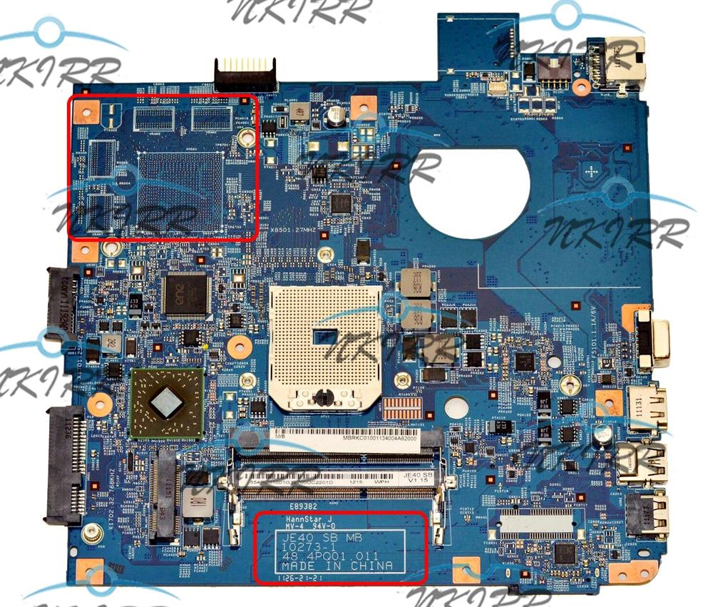 JE40 SB MB 10273-1 48.4PQ01.011 10273-1M 48.4PQ01.01M MBRKC01001 MB.RKC01.001 DDR3 اللوحة لشركة أيسر أسباير 4560 4560G MS2340