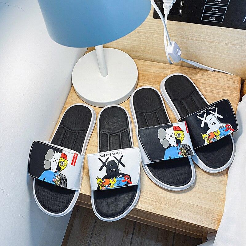 Soft Slippers Women Home Indoor Slippers Flip Flops Men Slides Woman Slippers Summer Women Shoes Sandalias