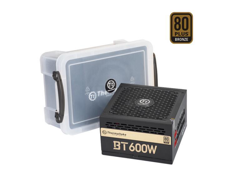 Thermaltake 600W BT 600W שולחן העבודה מחשב מיינפריים מארז ספק כוח (80 בתוספת ברונזה/מלא מודול/מאוורר שקט)