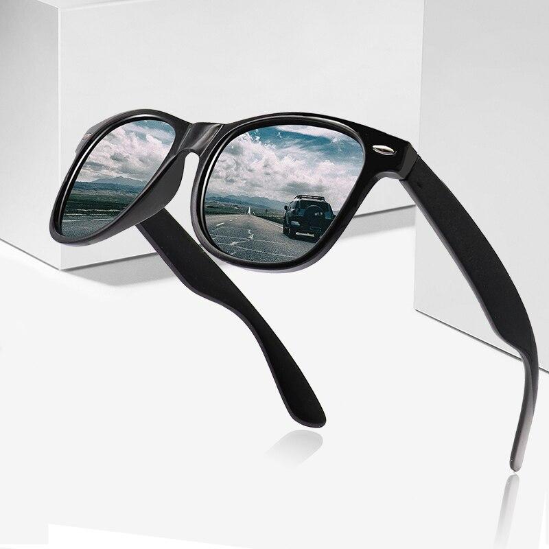 בציר מקוטב משקפי שמש גברים נשים מותג מעצב גווני נהג זכר משקפיים שמש נשים גברים Spuare מראה קיץ UV400 Oculos