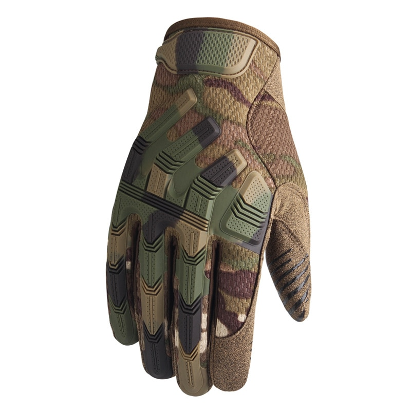 Tactical Military Gloves Army Paintball Shooting Airsoft Combat Bicycle Rubber Protective Anti-Skid Full Finger Glove Men Women multicam tactical military full finger gloves army paintball airsoft combat touch screen rubber protective glove men women new