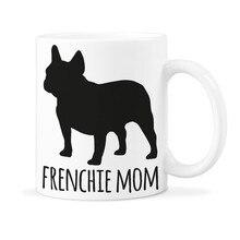 Французский бульдог кружка Frenchie мама кофе кружки Frenchie собака чашка