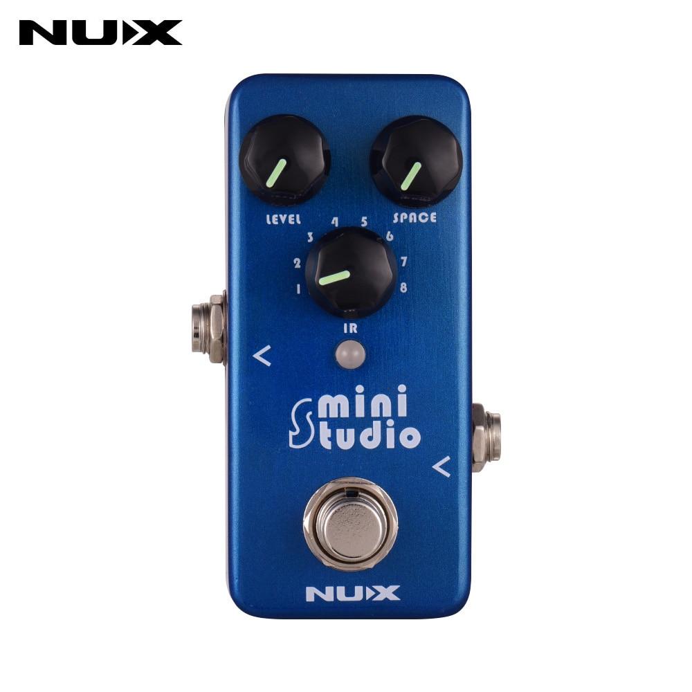NUX NSS-3 estudio altavoz gabinete Simulador de guitarra efecto Pedal respuesta de impulso cargador IR incorporado 8 modelos de gabinete de altavoces