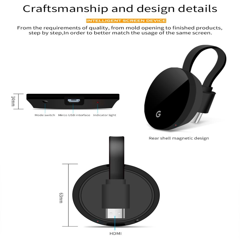 5g tv vara 4k wi-fi sem fio hdmi display para chromecast 3 2 miracast airplay dlna dongle anycast para google casa chrome netflix
