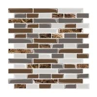 1pc wall sticker 30 530 5cm 3d kitchen wall tiles bathroom mosaic epoxy tile sticker %d1%81%d1%82%d0%b8%d0%ba%d0%b5%d1%80%d1%8b