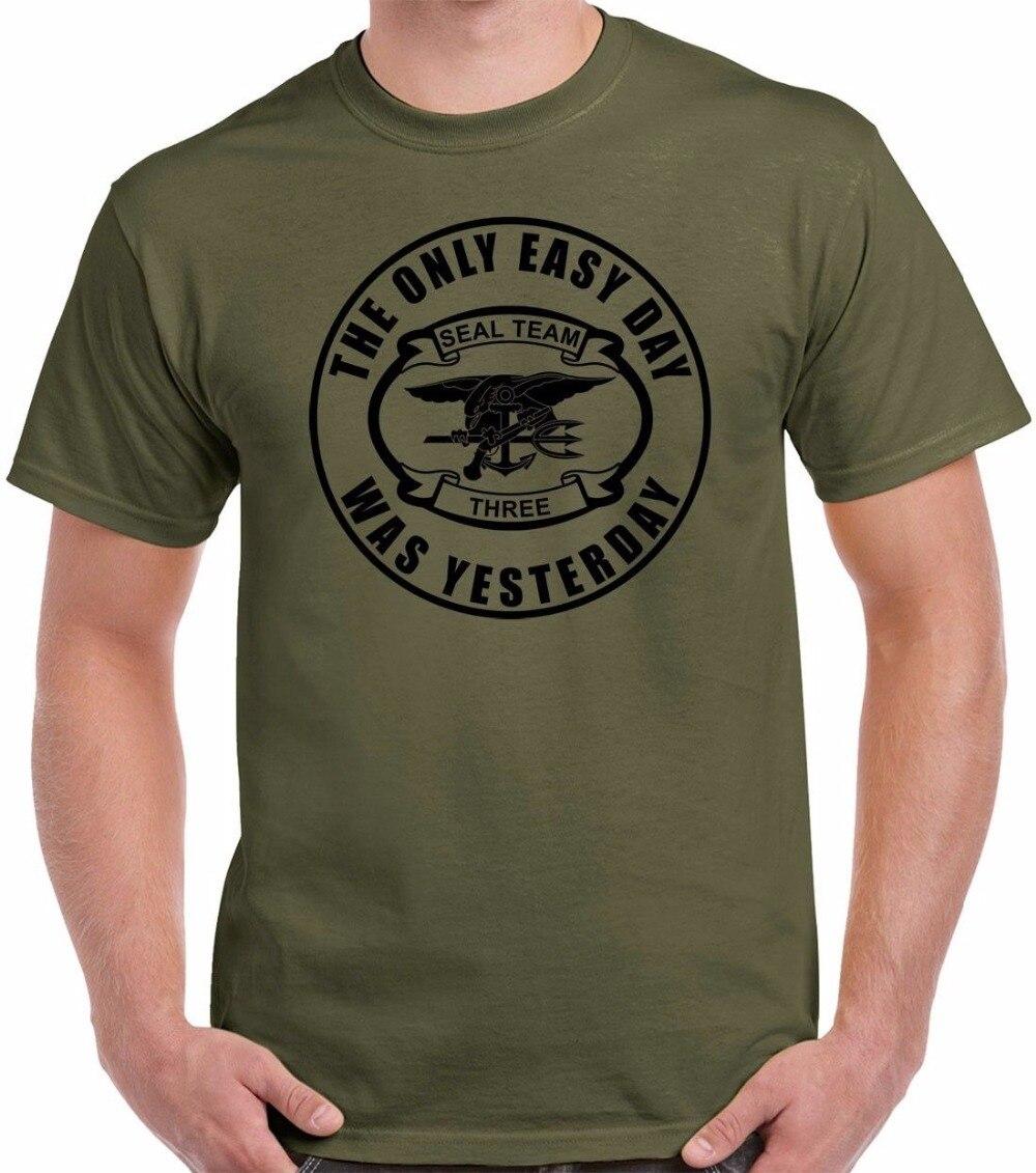 Camiseta divertida de manga corta para hombre de cuello redondo sellar Equipo...