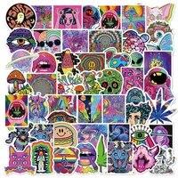 103050pcs cool psychedelic graffiti stickers aesthetic fashion street art bike diy skateboard car waterproof sticker for kids
