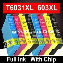 Compatible 603XL Cartouche Dencre pour Epson XP-2100 XP-2105 XP-3100 XP-3105 XP-4100 XP-4105 WF-2810 WF-2830 WF-2850