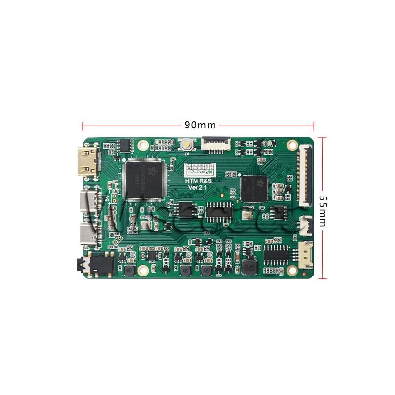 7 Inch 1920x1080 LCD Module Touch Screen  MIPI Driver Board For Raspberry Pi 4 Pi3 Nvi Dia Jetson Nano PC TV Box Game Box enlarge