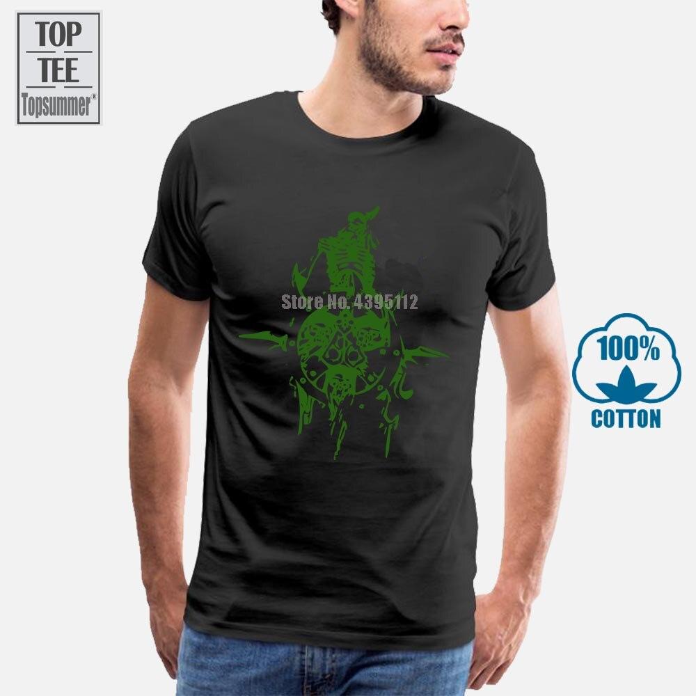 Мужская футболка с принтом из мультфильма Nurgle Icon, 100% хлопок, летняя повседневная футболка с коротким рукавом, 4Xl