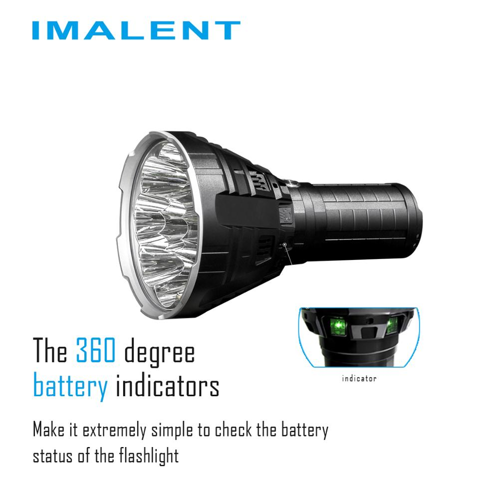 IMALENT R90C Rechargeable Flashlight Powerful Outdoor Camping Ultra Bright Torch 20000LM Waterproof Cree XHP Led Lamp enlarge