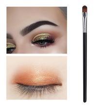 1Pc Long Pole Makeup Brush Women Portable Eyeshadow Brush Eye Shadow Foundation Face Blending Makeup